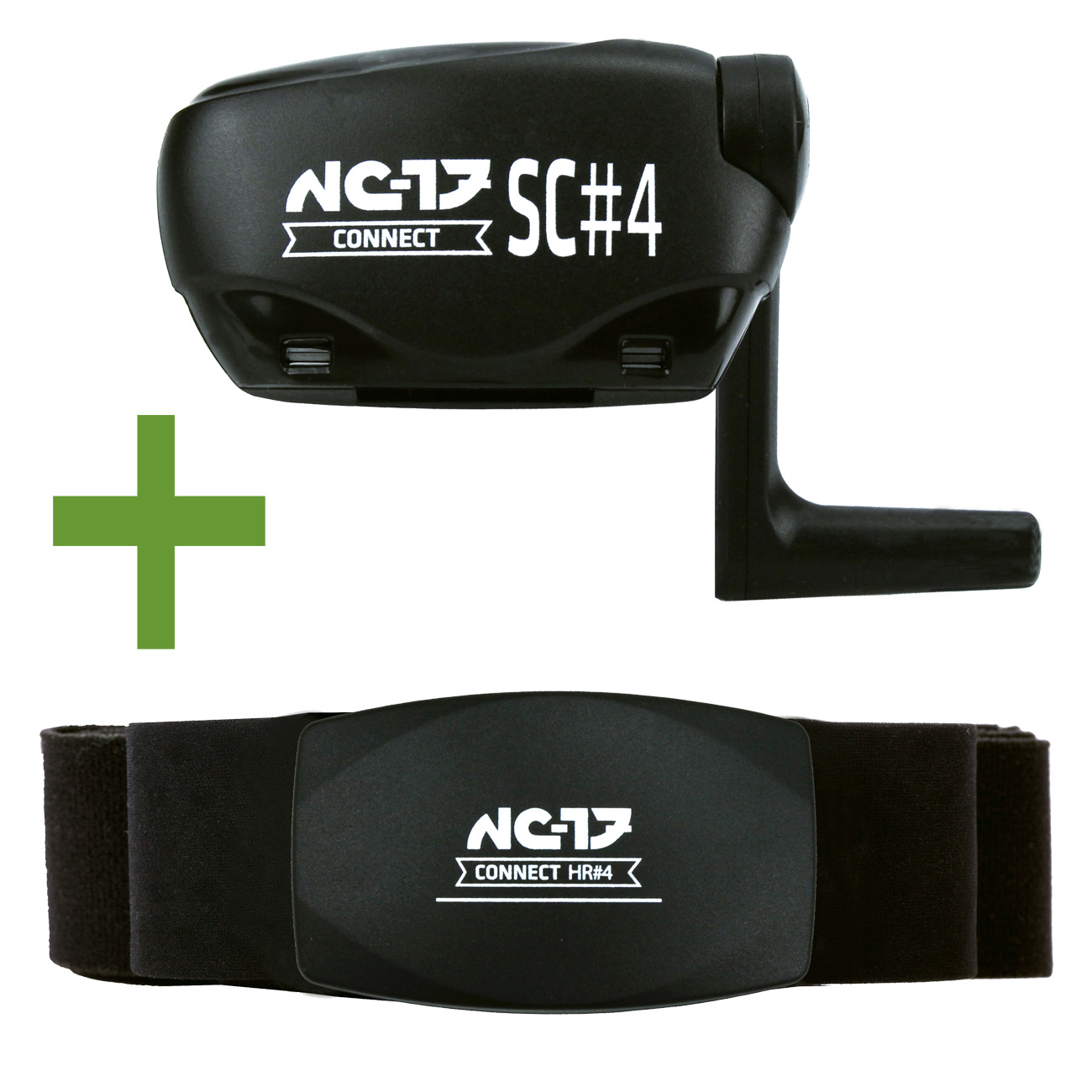 NC-17 Connect Set HR#4 und SC#4<br/>ANT+ und Bluetooth 4.0<br/>&nbsp;&nbsp;