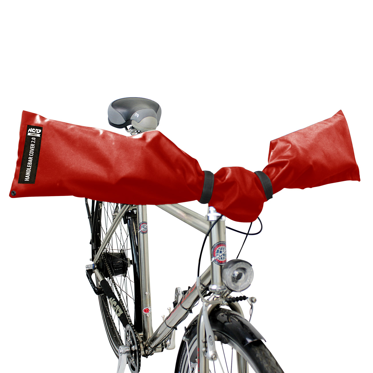 NC-17 Connect Handlebar Cover 2.0<br/>Für Lenker, one size fits all, rot<br/>&nbsp;&nbsp;