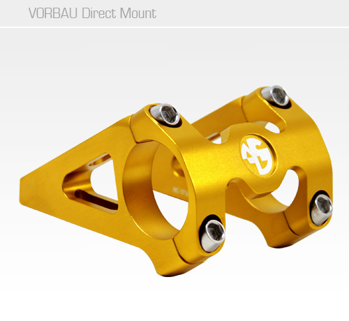 NC-17 Direct Mount Vorbau 31,8<br/>45-55 mm, gold, 25 Grad<br/>