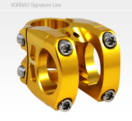 NC-17 S-Pro Signature Line, 31,8<br/>40mm, gold, 0 Grad, 1 1/8<br/>