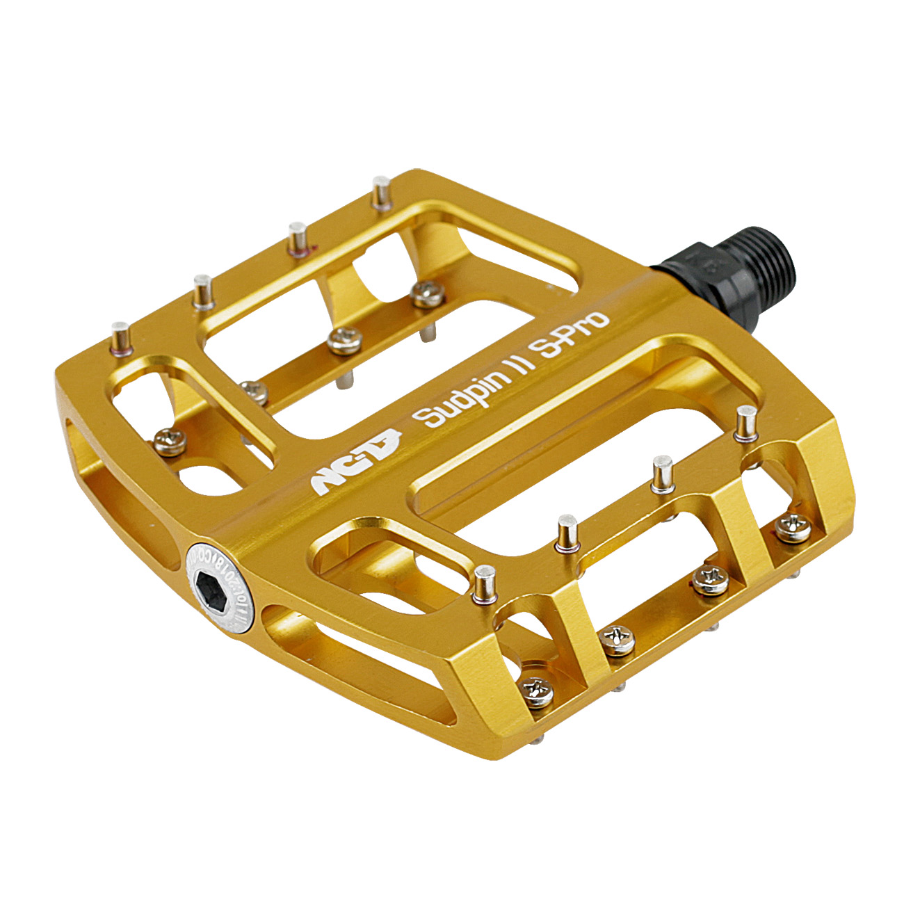 NC-17 Sudpin II S-Pro CNC<br/>Pedal, gold, Präzisionslager<br/>