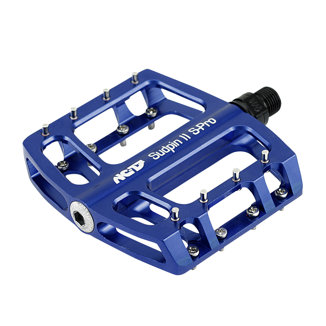NC-17 Sudpin II S-Pro CNC<br/>Pedal, blau, Präzisionslager<br/>